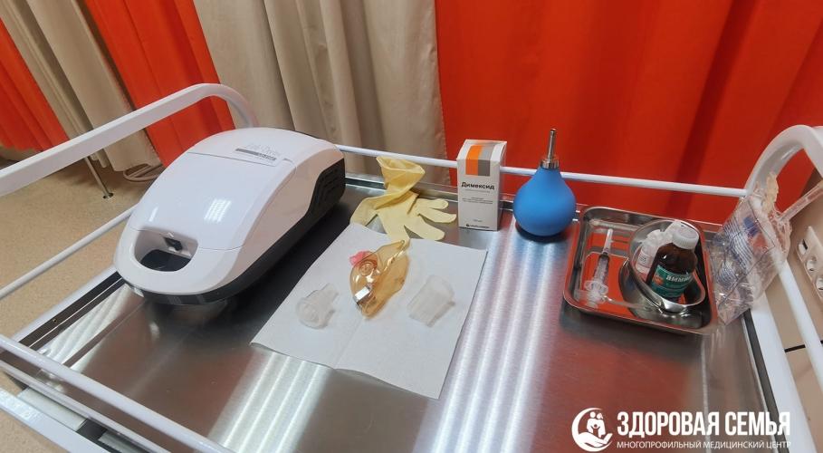 Оборудование в кабинете физиотерапии